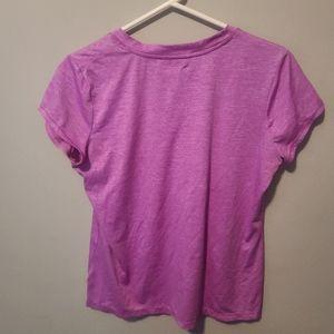 Xersion size large pink workout shirt